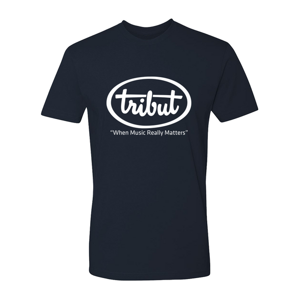Tribut - Logo T-Shirt (Unisex) - Midnight Navy