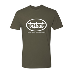 Tribut - Logo T-Shirt (Unisex) - Military Green