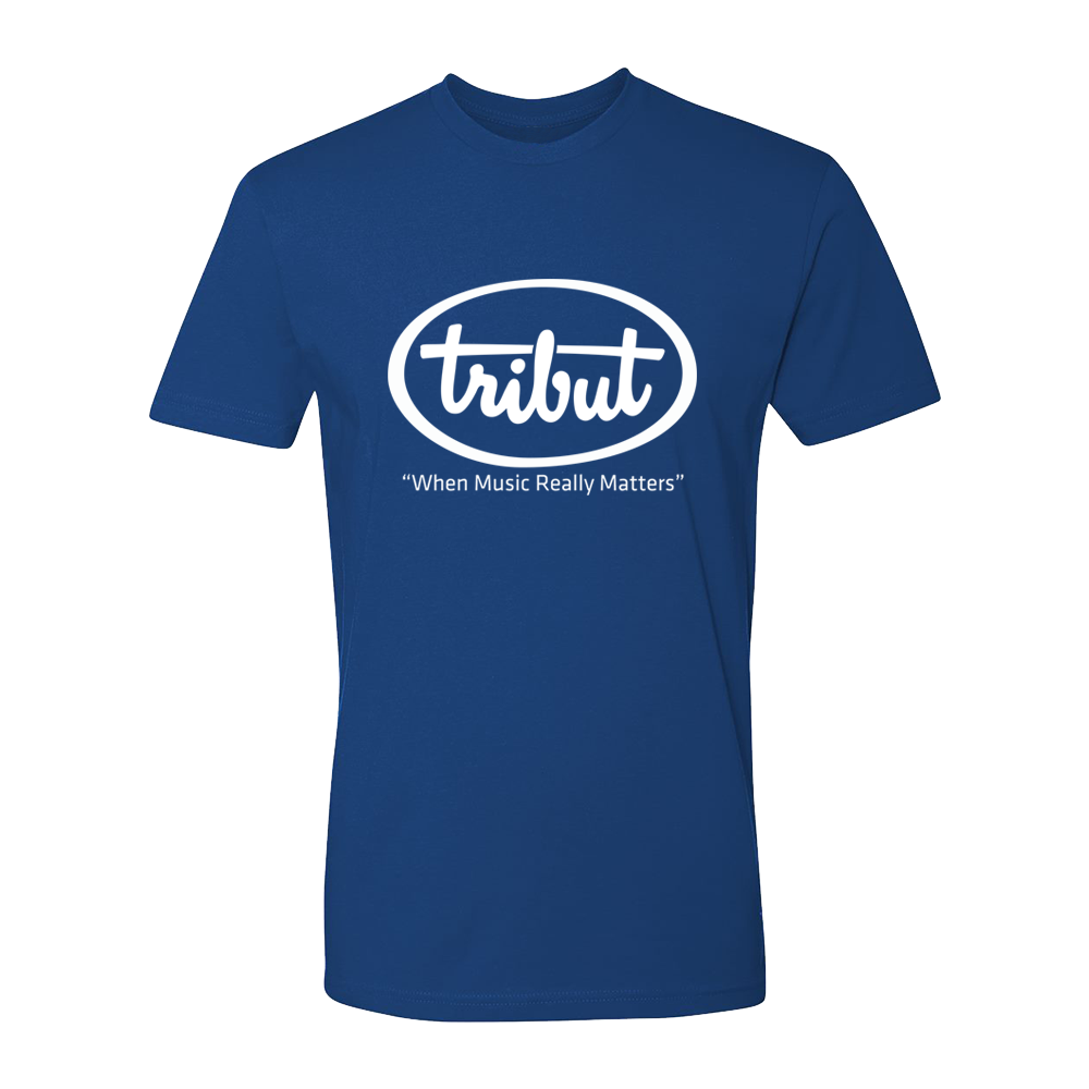 Tribut - Logo T-Shirt (Unisex) - Royal Blue