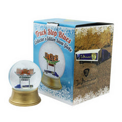 Truck Stop Blues Mini Snow Globe