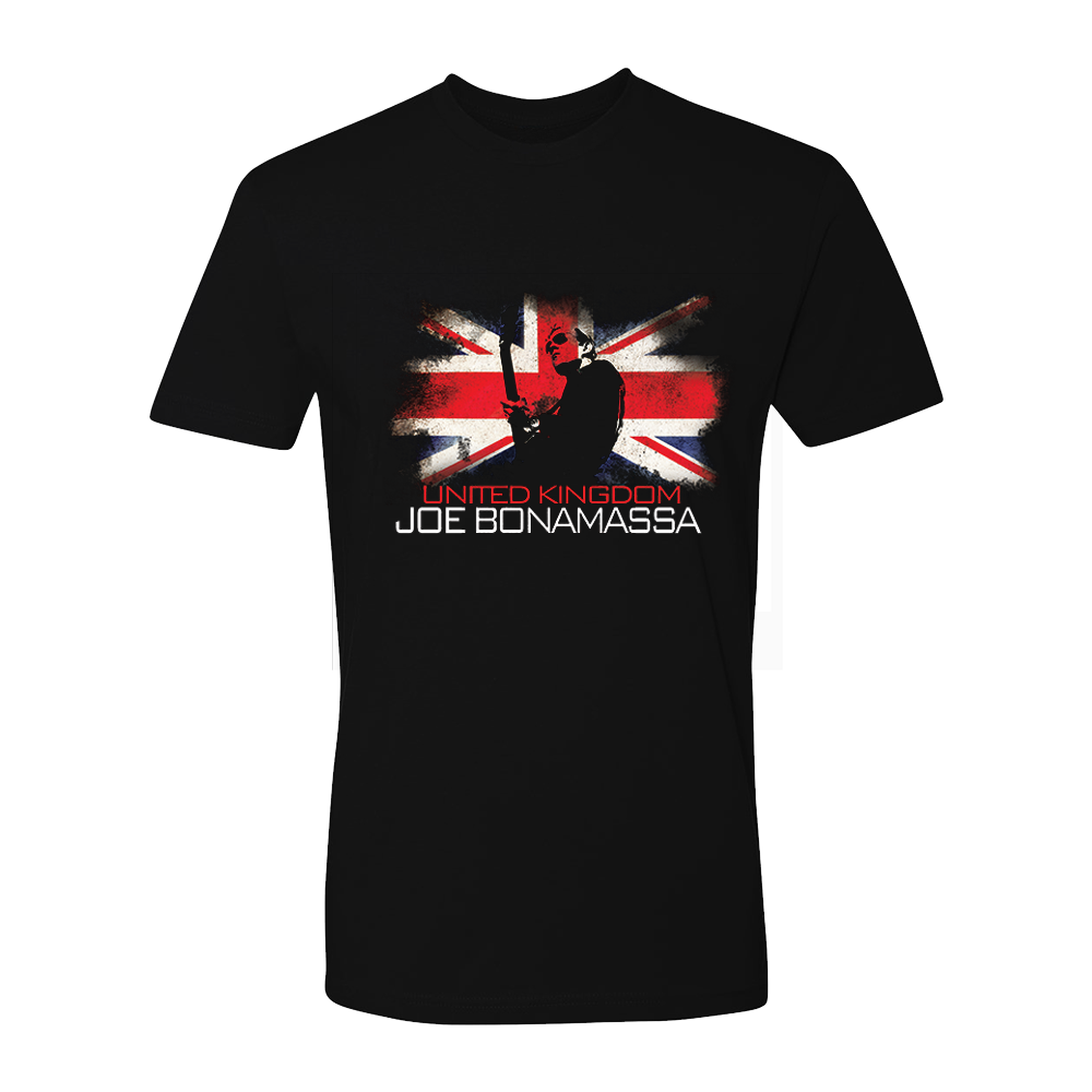 Joe Bonamassa World Shirt: United Kingdom