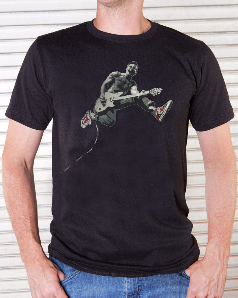Eddie Van Halen - Edward Jumping T-Shirt (Men)