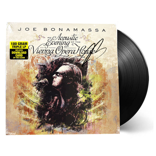 Joe Bonamassa: An Acoustic Evening At The Vienna Opera House (Vinyl) (Released: 2013) - Hand-Signed