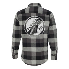 Vintage Headstock Flannel Long Sleeve (Men) - Black