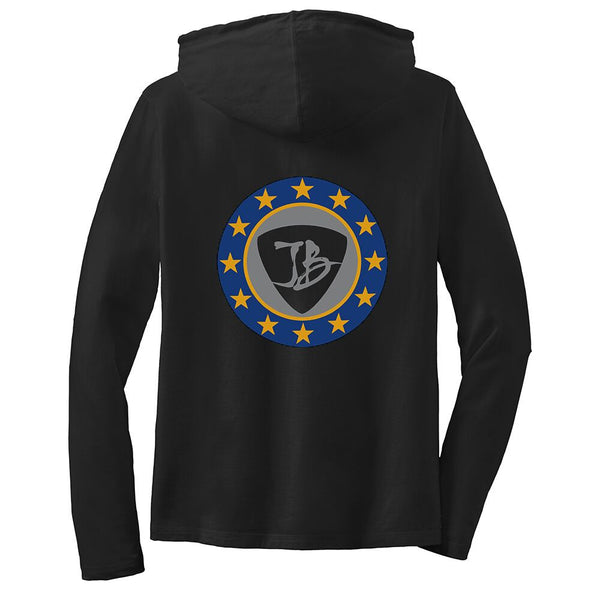 Vintage Star Shield Hooded Long Sleeve (Women)