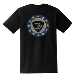 Vintage Star Shield Pocket T-Shirt (Unisex)