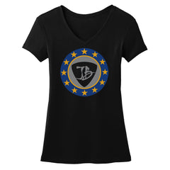 Vintage Star Shield V-Neck (Women)