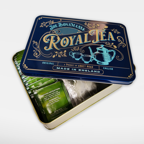 Royal Tea Tin Case