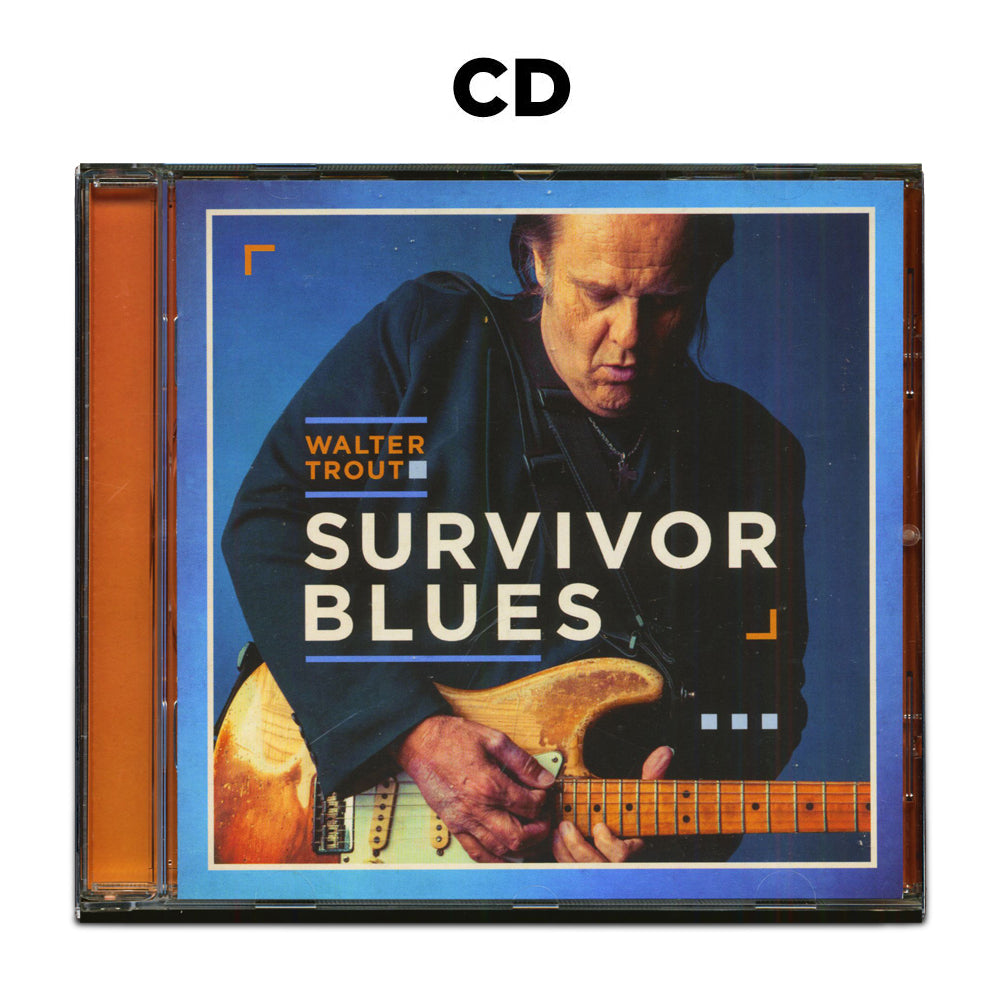 Walter Trout: Survivor Blues (CD) (Released: 2019)