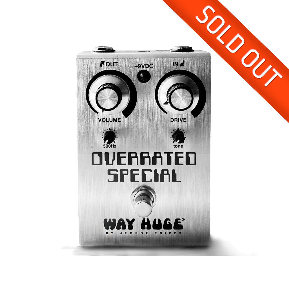 Way Huge Overrated Special Overdrive Pedal