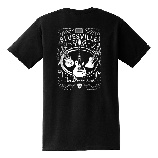 Welcome to Bluesville Pocket T-Shirt (Unisex) - Black