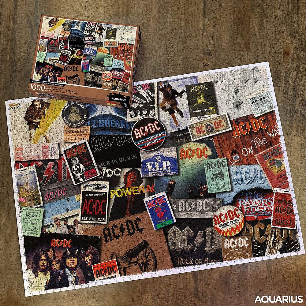 AC/DC Album Covers Puzzle