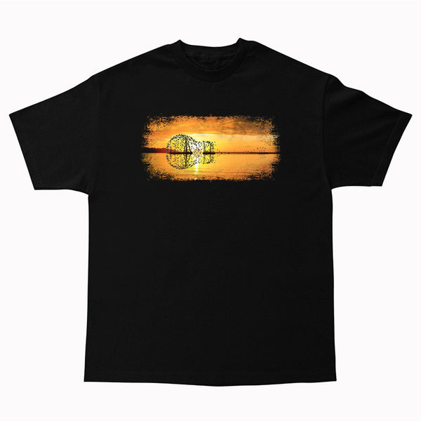 Tribut - Yellow Acoustic Sunset T-Shirt (Unisex)