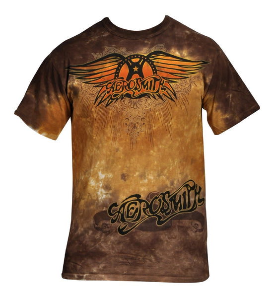 Aerosmith - Ray Logo T-Shirt (Unisex)