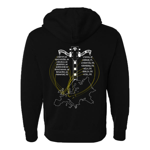 2018 Europe Tour Zip-Up Hoodie (Unisex)