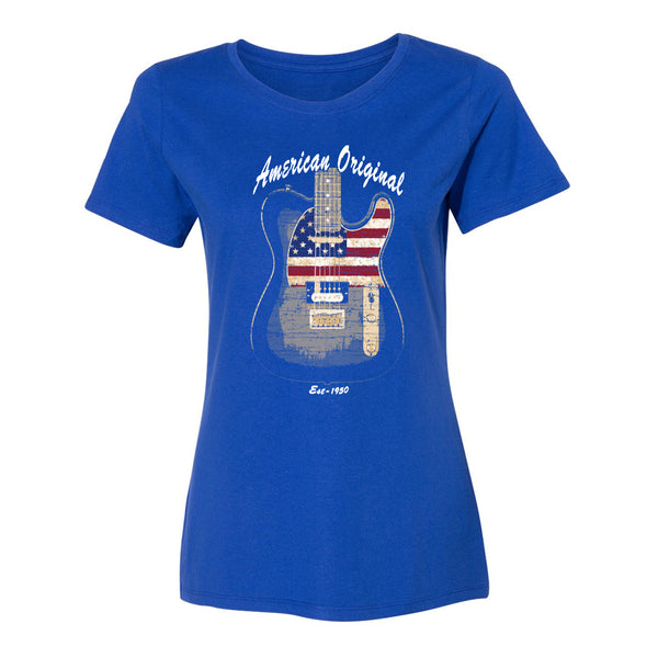 American Original Champion Short Sleeve T-Shirt (Women) - Royal