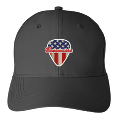 American Style Puma Adjustable Hat - Black