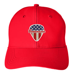 American Style Puma Adjustable Hat - Red