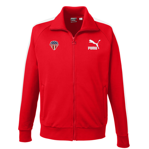 American Style Puma Sport Track Jacket (Men) - Red