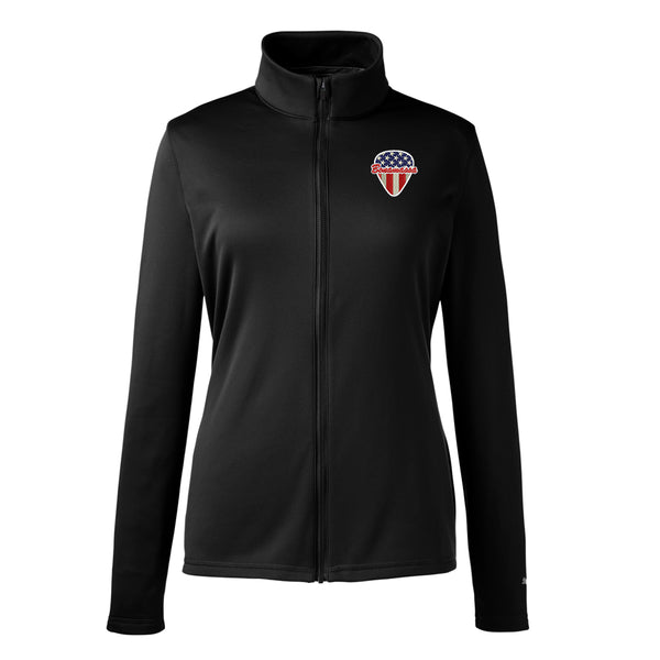 American Style Puma Zip-Up Jacket (Women) - Black