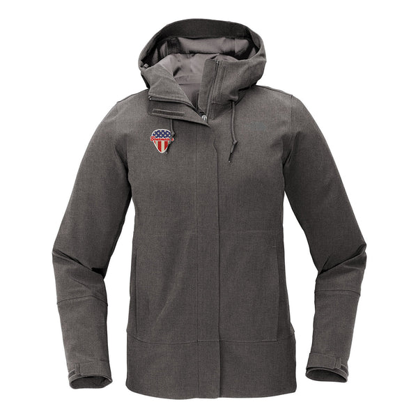 American Style - The North Face Apex DryVent Jacket (Women) - Heather Grey