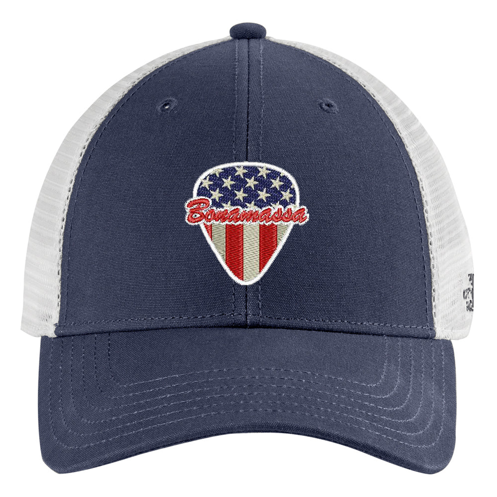 American Style The North Face Ultimate Trucker Hat - Navy/White