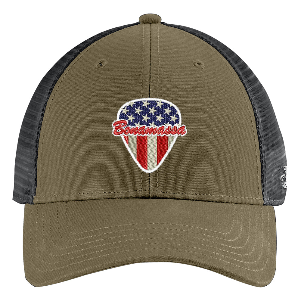 American Style The North Face Ultimate Trucker Hat - Olive/Asphalt Grey