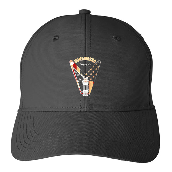 Peace Sign Puma Adjustable Hat - Black