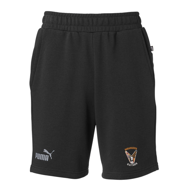 Peace Sign Puma Sport Essential Bermuda Short (Men) - Black