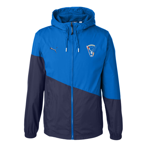 Peace Sign Puma Windbreaker (Unisex) - Royal
