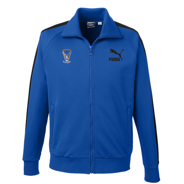 Peace Sign Puma Sport Track Jacket (Men) - Blue