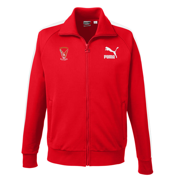 Peace Sign Puma Sport Track Jacket (Men) - Red