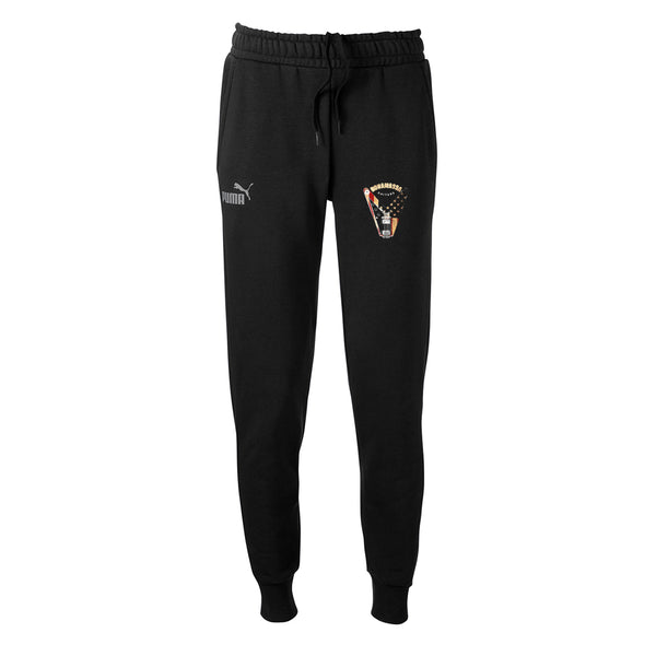 Peace Sign Puma Joggers (Unisex) - Black