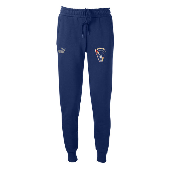 Peace Sign Puma Joggers (Unisex) - Navy