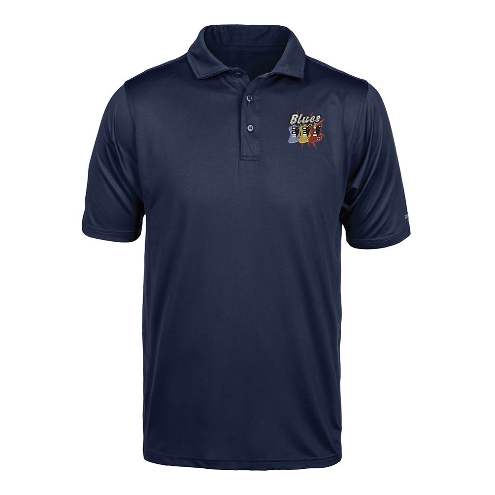 Blues Amigos Reebok Cypress Polo (Men) - Navy