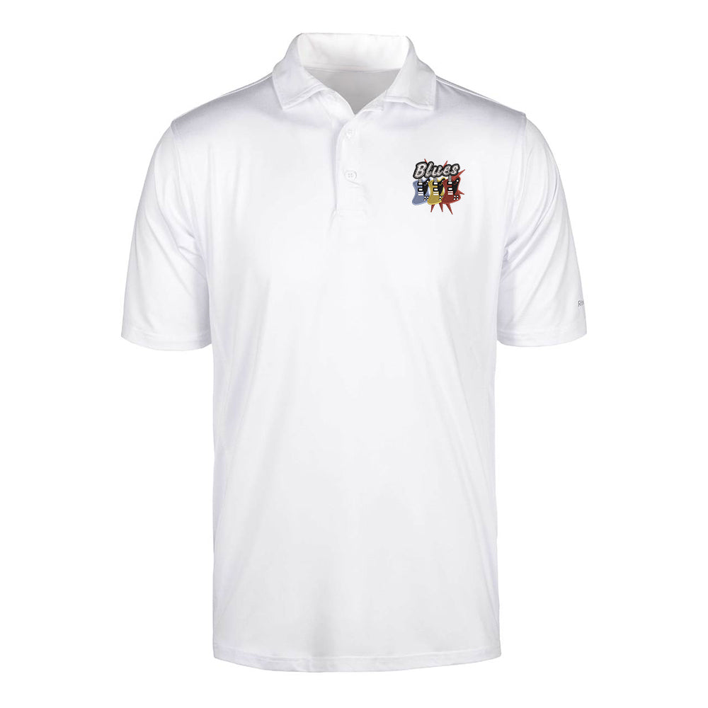Blues Amigos Reebok Cypress Polo (Men) - White