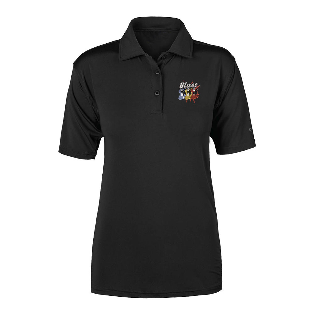 Blues Amigos Reebok Cypress Polo (Women) - Black