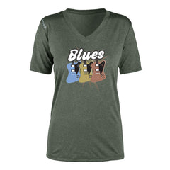 Blues Amigos Reebok Endurance T-Shirt (Women) - Green