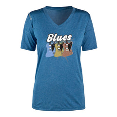 Blues Amigos Reebok Endurance T-Shirt (Women) - Royal
