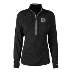 Blues Amigos Reebok Circuit 1/4 Zip-Up (Women) - Black