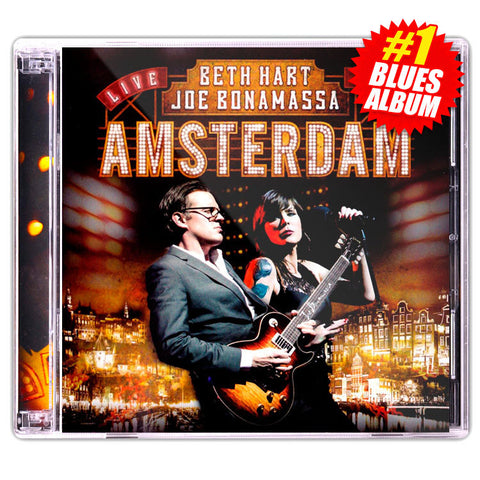 Beth Hart & Joe Bonamassa: Live In Amsterdam</br>(Double CD)</br>(Released: 2014)