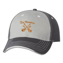 Always On The Road Tri-Color Hat - Grey/Charcoal