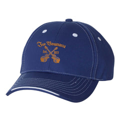 Always On The Road Tri-Color Hat - Royal