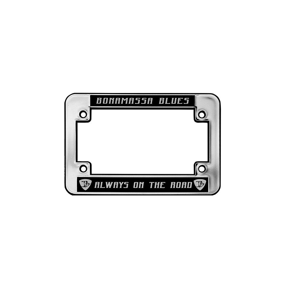 Always on the Road Silver License Plate Frame - Motorcycle – Joe ...