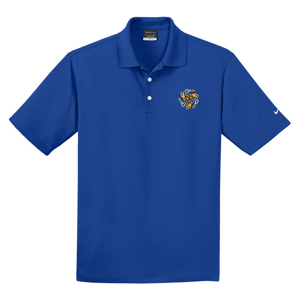 Always on the Road Flying V Nike Dri-FIT Micro Pique Polo (Men) - Blue Sapphire