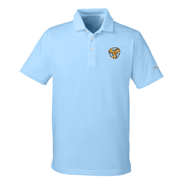 Always on the Road Flying V Puma Polo (Men) - Light Blue