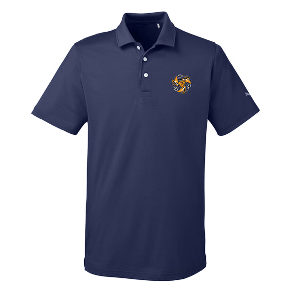 Always on the Road Flying V Puma Polo (Men) - Navy