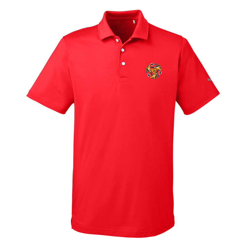 Always on the Road Flying V Puma Polo (Men) - Red