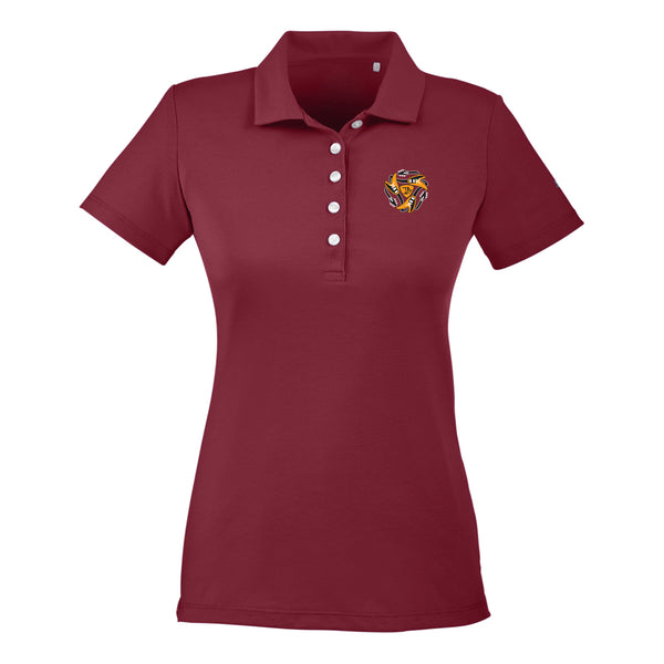 Always on the Road Flying V Puma Polo (Women) - Cabernet
