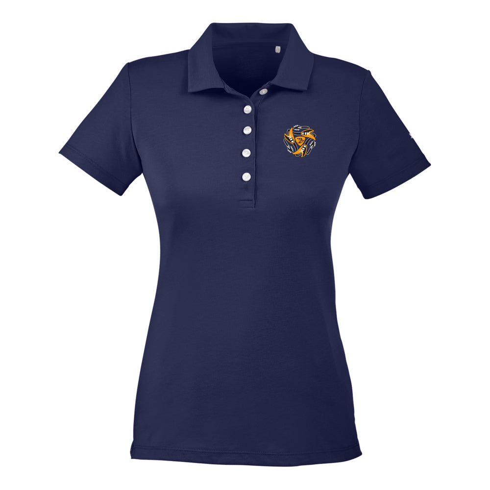 Always on the Road Flying V Puma Polo (Women) - Navy